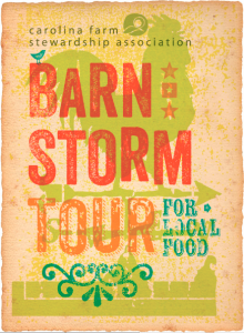 CFSA Barn Storm Tour for Local Food Logo