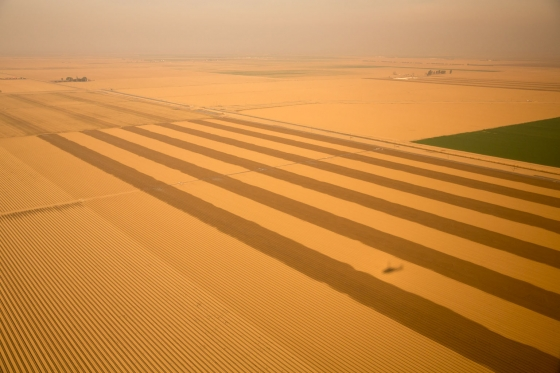 View_from_Marine_One_on_California_Drought