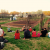 Learning about the connection between the land, food, and faith at the Concord UMC community garden. Photo by Grace G. Hackney