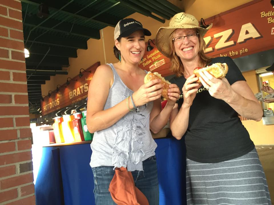 Jennifer Curtis and Tina Prevatte, the founders of Firsthand Foods