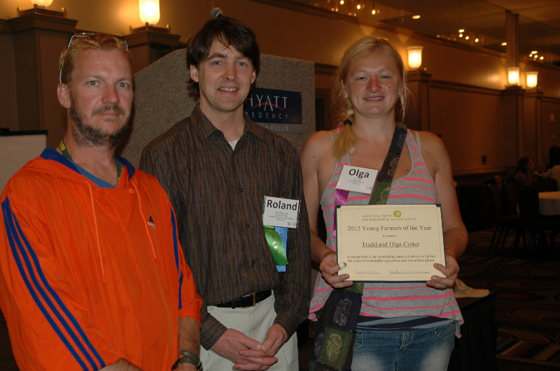 Tradd and Olga Cotter - Young Farmers of the Year