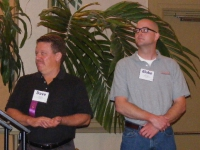 Dave Lamie and Blake Shelton of the Clemson Institute for Community + Economic Development - Institution of the Year