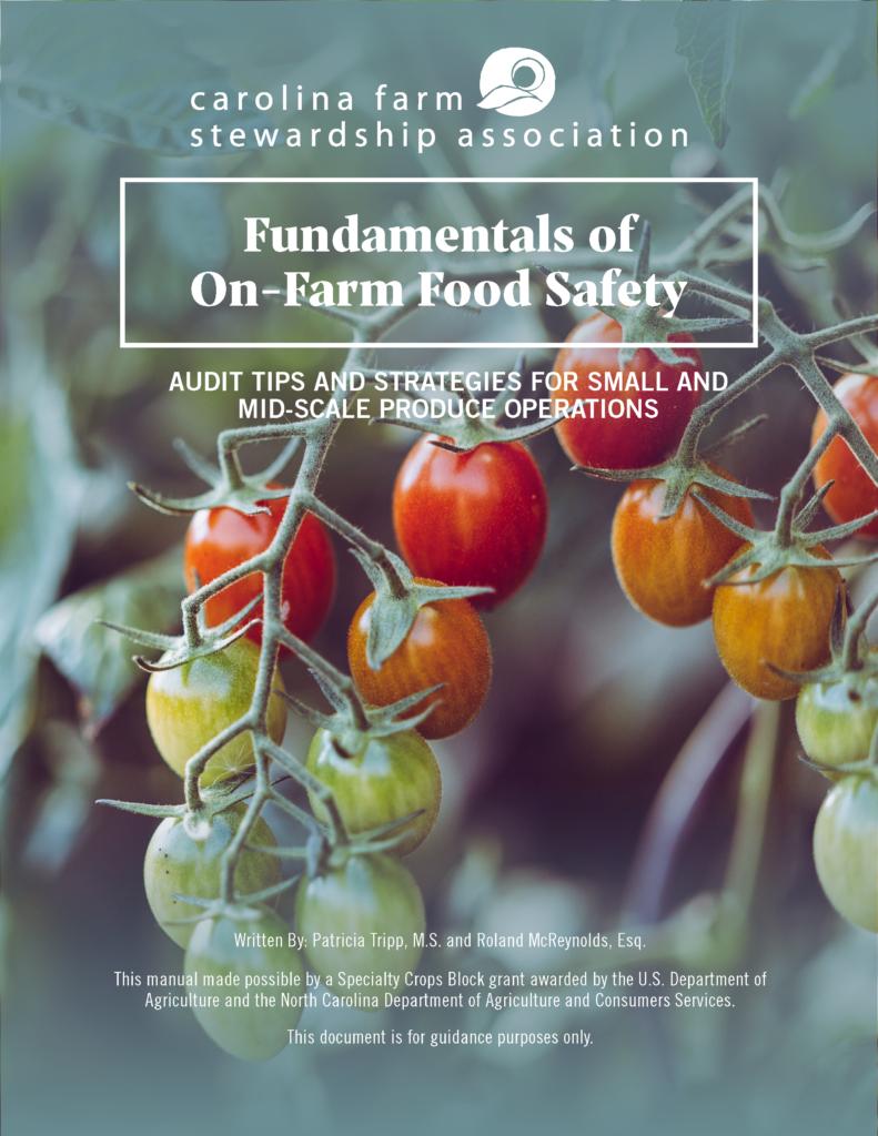 GAPs Manual | Carolina Farm Stewardship Association