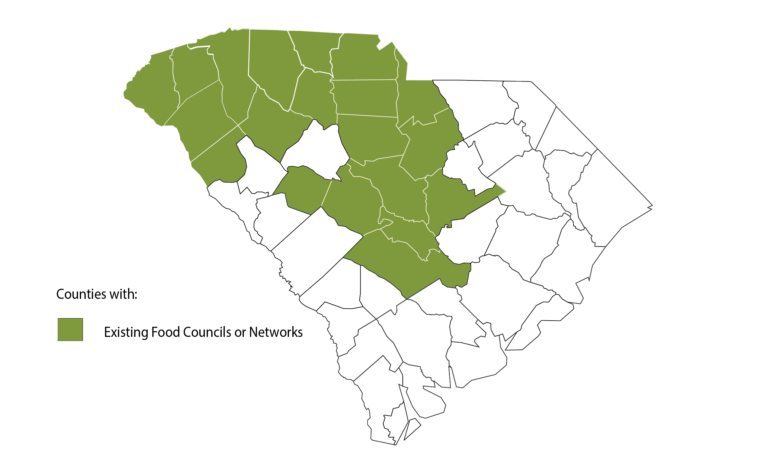 SC-Vector-map-with-food-councils-2