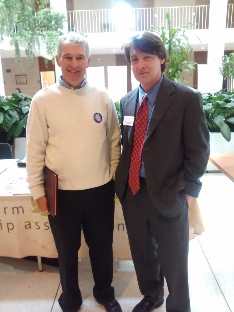 Roland and Fred Miller at the 2015 Ag Awareness Day in NC
