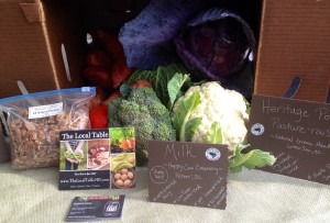 The Local Table CSA Box