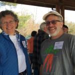 Karen mcadams and noah rannells at PFT 15 Potluck