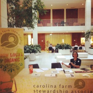 Rochelle at the General Assembly for Healthy Corner Stores