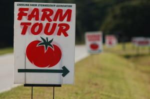 Farm Tour Sign