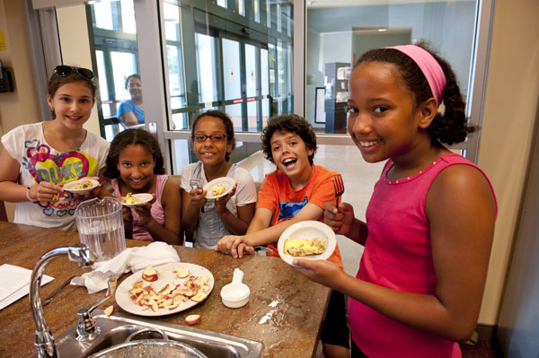 Getting kids to eat local