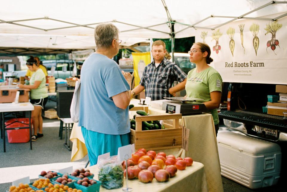 Pittsboro Farmers' Market, photo by Lea Ciceraro