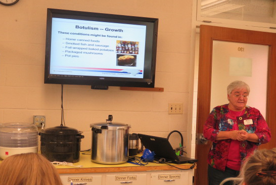 Chatham Co Cooperative Extension Canning Class