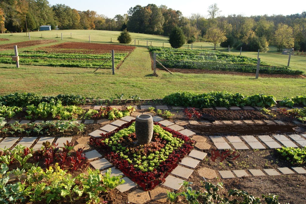 Demonstration Garden at Peaceful River Farm