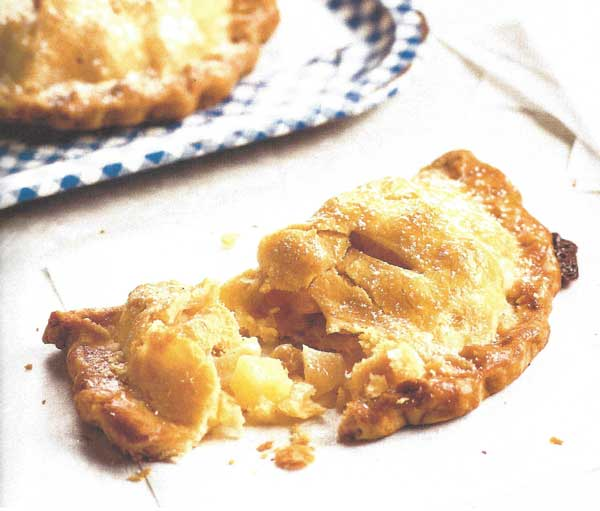 Apple hand pie - Sheri Castle