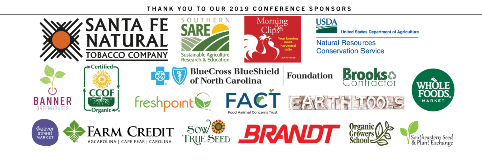 2019 Sustainable Agriculture Conference   Carolina Farm