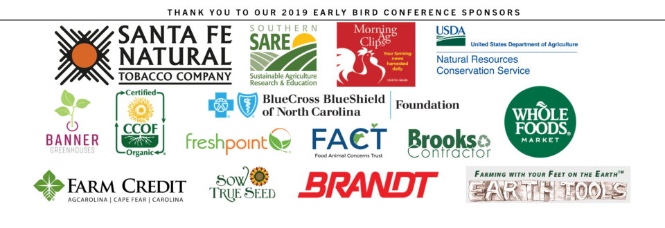 Our 2019 list of SAC sponsors